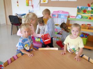 Pierwsze dni w przedszkolu...