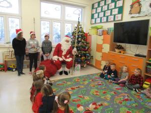 Wizyta Świętego Mikołaja w przedszkolu 2018