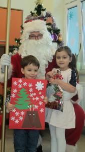 Wizyta świętego Mikołaja u Krasnali 2018