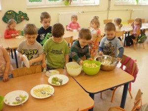 Jedzmy zdrowo i kolorowo - trzylatki