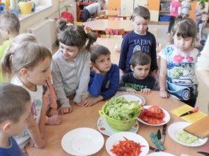 Jedzmy zdrowo i kolorowo - czterolatki