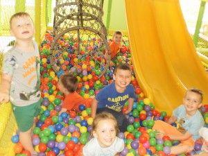 Sala zabaw - czterolatki