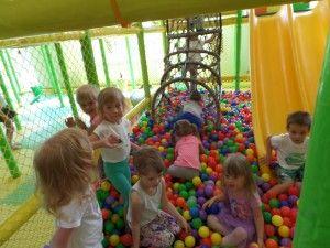 Sala zabaw - trzylatki