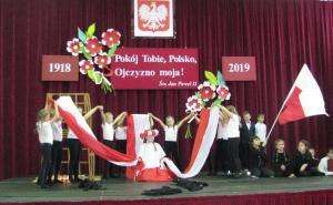 Akademia z okazji rocznicy odzyskania niepodległości.