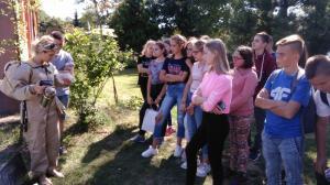 Klasa VIIIA na PIKNIKU EDUKACYJNYM w Jaworku