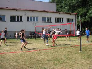 Dzień Dziecka - gry z piłką i rakietką