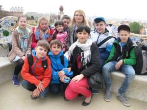 Szkolny Team w Barcelonie