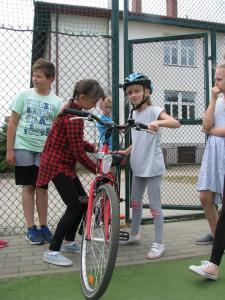 Na rowerze jeżdżę bezpiecznie!